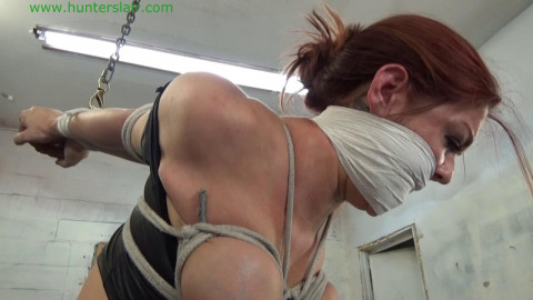Sarah Brooke rope fastened