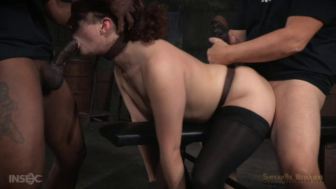 Blisteringly fast paced live show continues as Endza is roughly fucked  hard cock! (2015)