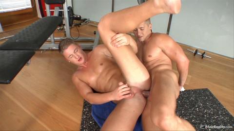 Gay Frathouse - Scene #02 (David Road, Joey Intenso)