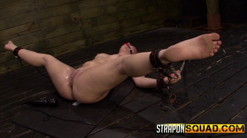 StraponSquad - Jun 03, 2016 - More Lesbian Slave Training for Kimber Woods with B. Daniels & M. Lee