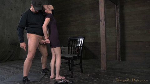 Innocent Face Deep Throating Champ Bonnie Day Brutally Pounded And Bred Hardcore Deep Throating HD