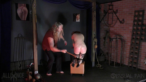 SensualPain - Mar 30, 2017 - Cane and Strap - Abigail Dupree, Master James