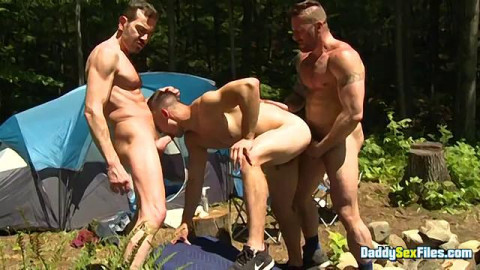 DaddySexFiles - Campsite Weenie Hungry Fuckfest Part TWO