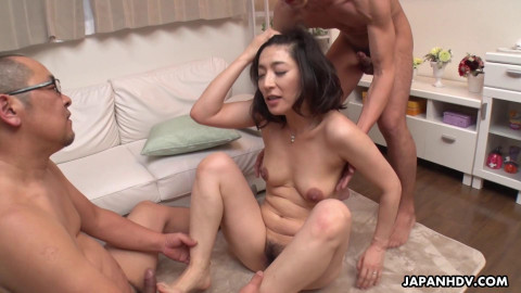 JapanHDV - Marina has a visit from her husbands boss and s's ally