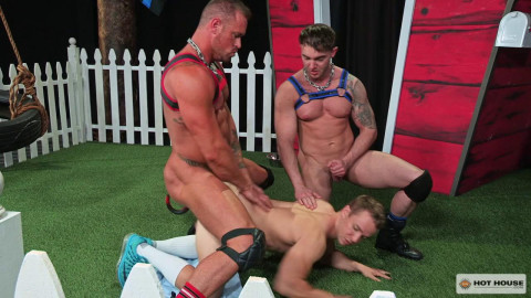 Gabriel Cross, Michael Roman and Jake Ashford