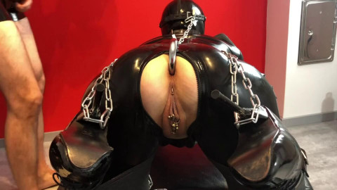 Bondage, torture and domination for very beautiful model