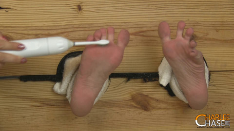 TickleTorture - Nora Ivy Locked Stocked & Foot Tickled