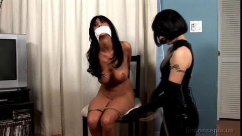 Naked Captives of Dangerous Diva