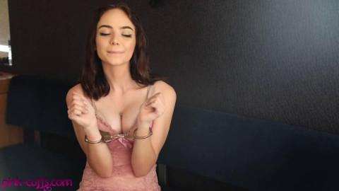 Super restraint bondage and domination for very glamorous brunette hair HD 1080p