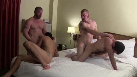 Rough Bareback Orgies
