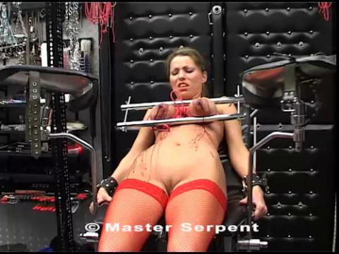 Torture Galaxy video of Model Hilde video Part HiV48