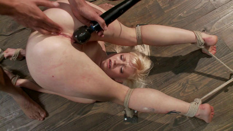 Cute Young Blonde Overwhelmed with Bondage and Cock Elyssa Greene Mickey Mod