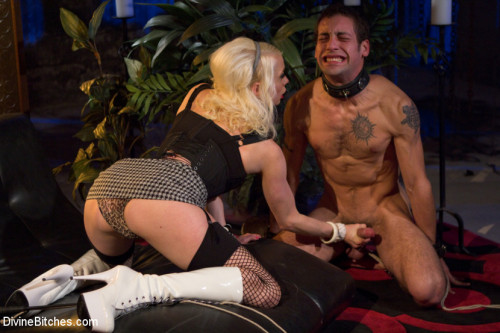 Femdom and Strapon The Ultimate Cock Tease