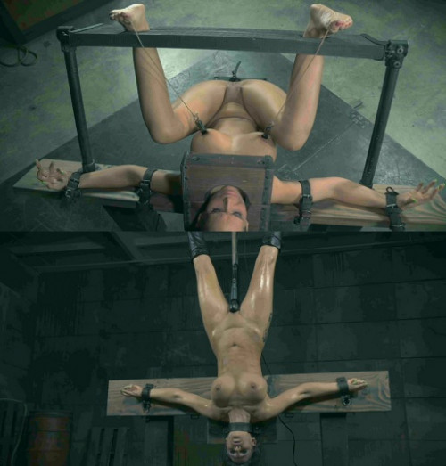 bdsm Sweet Tits in the brutal test