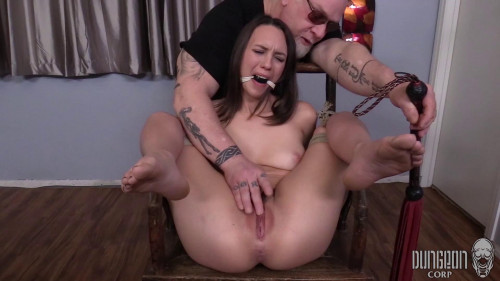 BDSM Her nipple clamps creating