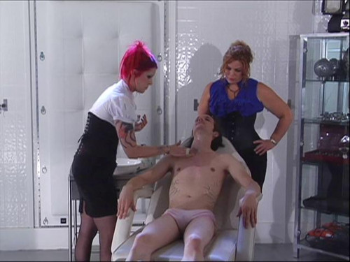 Femdom and Strapon Academy For Sissies Part 3