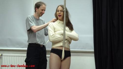 BDSM I love Bondage - Helpless in straithjacket