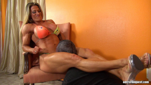Femdom and Strapon Maria Garcia - What Is That Noise - HD 720p