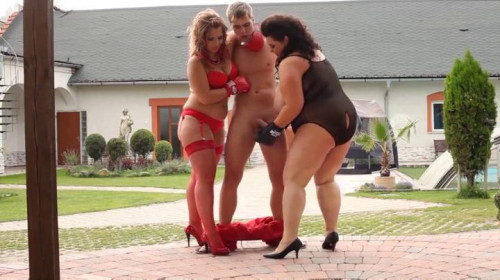 Femdom and Strapon Bad Boys Busted!