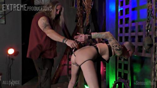 BDSM Double Hooked Cock Sucker