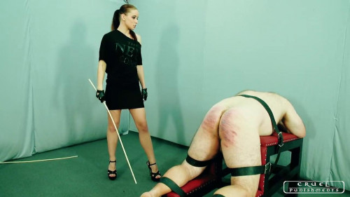 Femdom and Strapon More brutal punishment (2017)