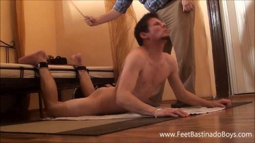 Gay BDSM FeetBastinadoBoys - Lukas Liz. Bastinado