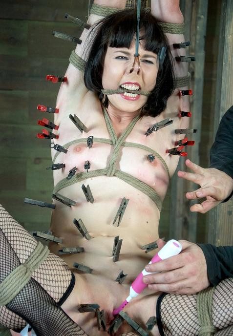 bdsm The totality torture for brunettes