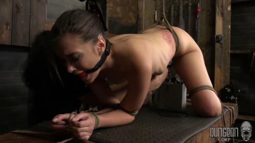 BDSM Have their labias tied to their