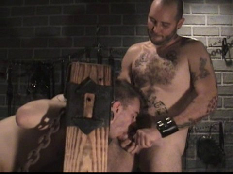 Gay BDSM Roped and Stripped