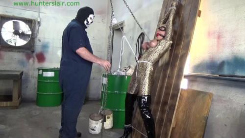 BDSM HunterSlair - Amanda Foxx - Cuffed tits torture