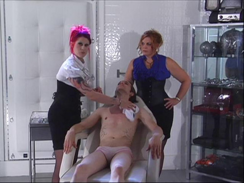 Femdom and Strapon Academy For Sissies