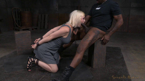 BDSM HD Bdsm Sex Videos Pale blonde Cherry Torn chained down