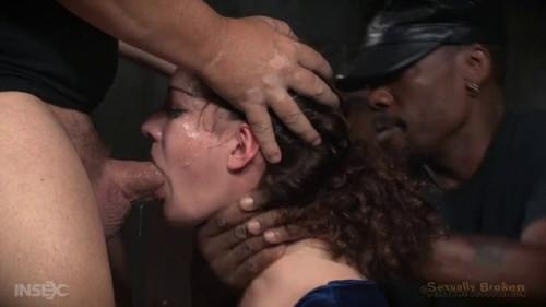 BDSM Curly Haired Newbie Endza Bound