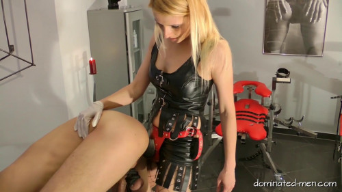 Femdom and Strapon Lady Natalie Black - Well Hung Fuck Toy - Full HD 1080p