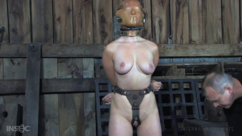 BDSM Tight bondage, torture and domination for horny brunette part 2 HD 1080p