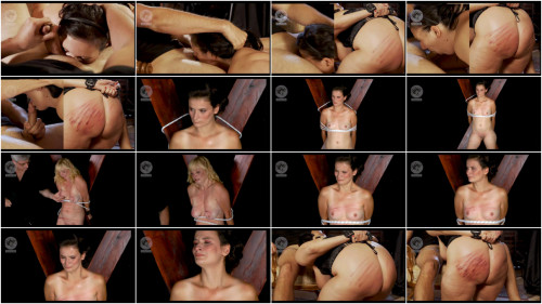 BDSM Metodology Of Torture - Sucking Under The Cane