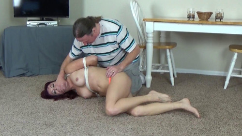 BDSM Sarah Tied By Her Brother