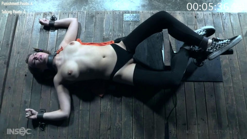 BDSM Super bondage, domination and torture for horny girl part 1