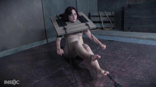 BDSM Pretty girl enjoys rough bondage