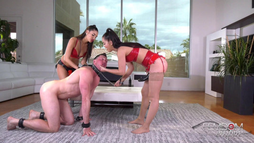 Femdom and Strapon Alina Lopez, Gianna Dior - Hole Abusers 1080p