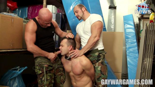 Gay BDSM GayWarGames - Right and Justice Parts 3
