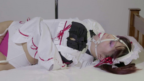 bdsm Japanese Maid Cosplay Bound