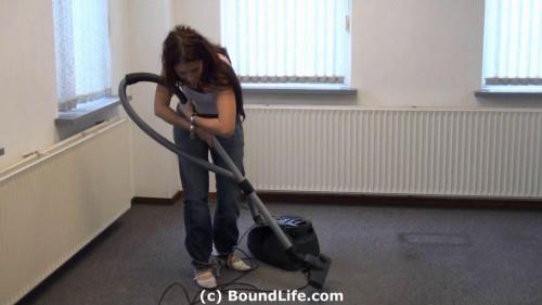 BDSM Vacuum cleaning in Irish Pt 8