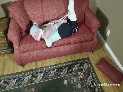 BDSM SandraSilvers - Buxom MILF Babysitter falls prey to suggestion