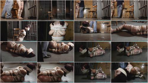 BDSM HD Bdsm Sex Videos Smalltown Jail Rinn Hogcuffed, to Excerise, then Hogtied Part 2