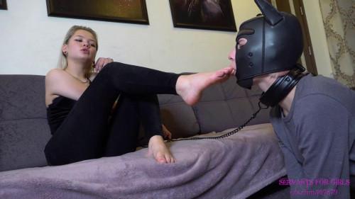 BDSM Time for slave girl use