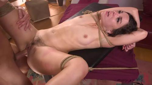 BDSM Cheating Girlfriend Juliette March Brutally Fucked by Ex