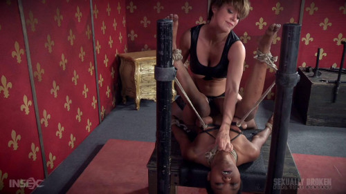 bdsm Tiny Slut Fucked On Table