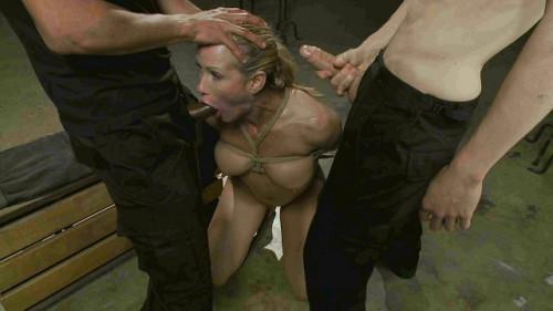 bdsm MILF Whore Stuffed with 2 Huge Cocks (Mickey Mod, Owen Gray, Simone Sonay)