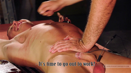 Gay BDSM RusCapturedBoys - The Recruitment of an Employee - Part II